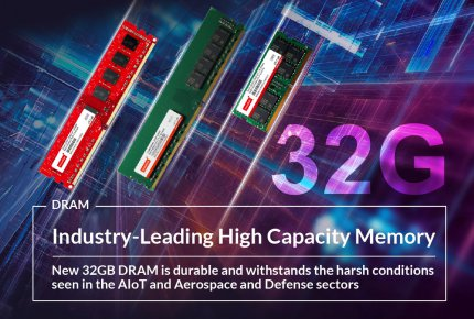 Industry-Leading High Capacity Memory