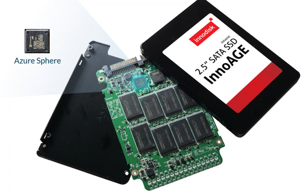 New product Innodisk's InnoAGE™ SSD connected by Microsoft Azure Sphere