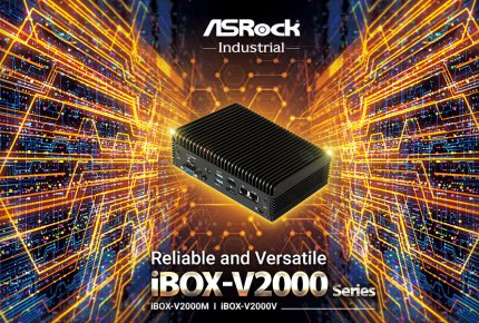 ASRock Industrial Brings Reliable and Versatile iBOX-V2000 Series Mini PC with AMD Ryzen™ Embedded V2000 Series Processor.